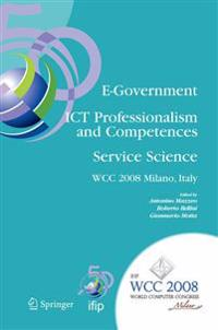 E-government Ict Professionalism and Competences Service Science
