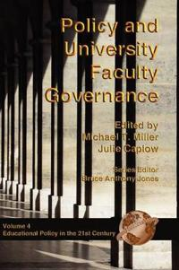Policy and University Faculty Governance