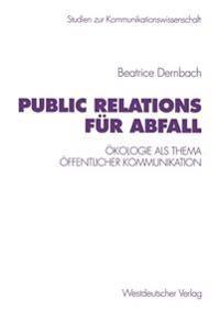 Public Relations Fur Abfall