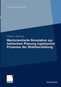 Wertorientierte Simulation Zur Taktischen Planung Logistischer Prozesse Der Stahlherstellung