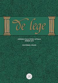 De Lege årsbok 2013 : Doktrinen i praxis