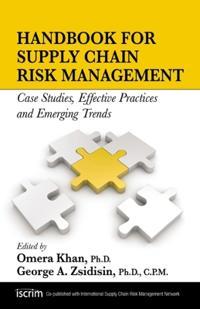 Handbook for Supply Chain Risk Management