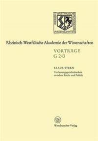 Verfassungsgerichtsbarkeit Zwischen Recht Und Politik
