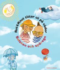 Rut & Knut tittar ut på väder : Solsken och spöregn