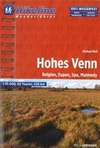 Hohes Venn Wanderfuehrer Belgien, Eupen, Spa, Malmedy