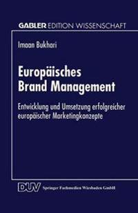 Europäisches Brand Management