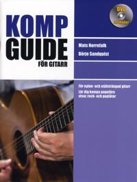 Kompguide för gitarr inkl DVD