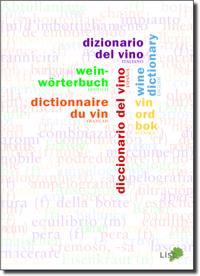 Vinordbok på sex språk : svenska, engelska, franska, tyska, spanska, italienska