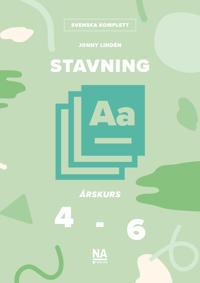 Stavning A åk 4-6 -  pdf epub