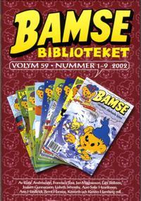 Bamse Biblioteket. Vol 59, nummer 1-9 2002