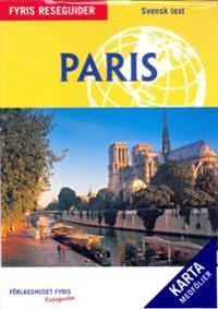 Paris med karta