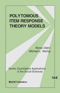 Polytomous Item Response Theory Models