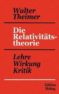 Die Relativit Tstheorie