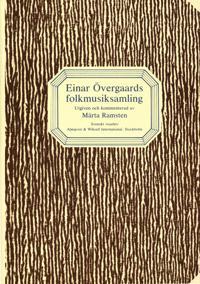 Einar Övergaards folkmusiksamling -  pdf epub