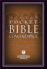 Holman Pocket Bible Concordance