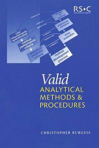 Valid Analytical Methods and Procedures