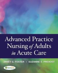 Advanced Practice in Nursing of Adults in Acute Care
