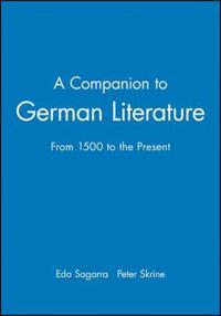 A Companion to German Literature