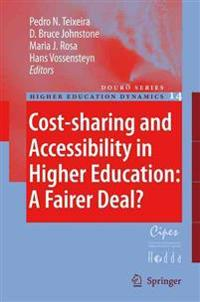Cost-sharing And Accessibility in Higher Education