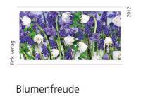 Blumenfreude 2012. XXL-Fotokarten-Einsteck-Kalender