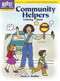 Community Helpers Coloring Book