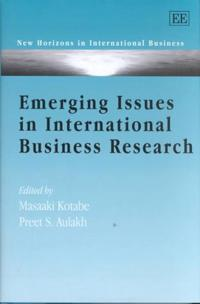 Emerging Issues in International Business Research
