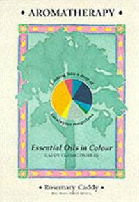 Aromatherapy - essential oils in colour