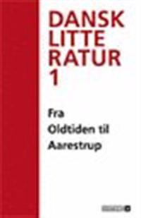 Falkenstjerne - dansk litteratur-Fra oldtiden til Aarestrup