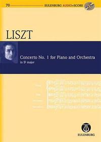 Concerto No. 1 for Piano and Orchestra in E-Flat Major: Study Score/CD