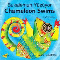 Chameleon Swims Bukalemun Yuzuyor - Laura Hambleton - böcker (9781840594454)     Bokhandel