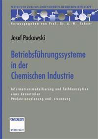 Betriebsfuhrungssysteme in Der Chemischen Industrie