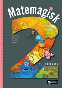 Matemagisk 2 - Sindre Nyborg, Erling Nilsen, Margareth Nilsen, Inger-Lise Fritzen | Inprintwriters.org