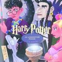 Harry Potter ja liekehtivä pikari (21 cd-levyä)