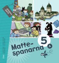 Mattespanarna 5A Grundbok - Gunnar Kryger, Andreas Hernvald, Hans Persson, Lena Zetterqvist pdf epub