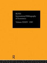 International Bibliography of the Social Sciences, 1985