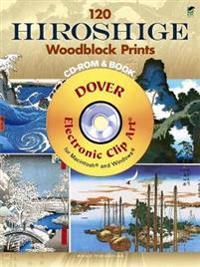 120 Hiroshige Woodblock Prints