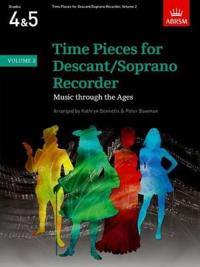 Time Pieces for Descant/Soprano Recorder, Volume 2