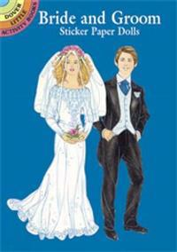Bride and Groom Sticker Paper Dolls