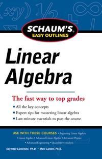 Schaum's Easy Outline Linear Algebra