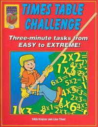 Times Table Challenge: Three-Minute Tasks from Easy to Extreme!