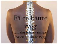 Få en bättre rygg : Lär dig fem övningar för en starkare rygg