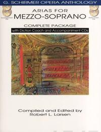 Arias for Mezzo-Soprano Complete Package