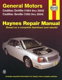 Haynes Repair Manual General Motors Cadillac Deville, Seville, and DTS
