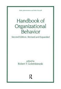 Handbook of Organizational Behavior