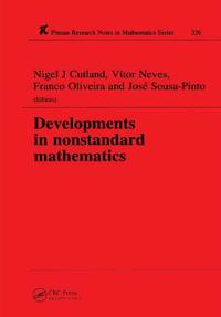 Developments in Nonstandard Mathematics