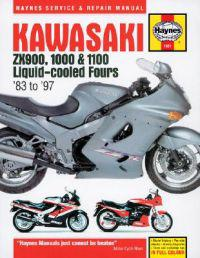 Kawasaki Zx900, 1000 And 1100 Liquid-cooled Fours Service And Repair Manual