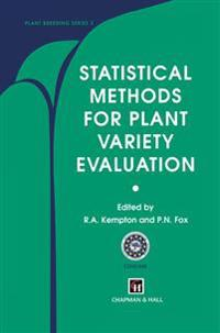 Statistical Methods for Plant Variety Evaluation