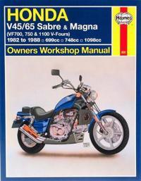Honda V45/65 Sabre and Magna (Vf700, 750 and 1100 V-Fours)