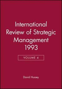 International Review of Strategic Management 1993, Volume 4
