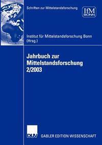 Jahrbuch Zur Mittelstandsforschung 2/2003